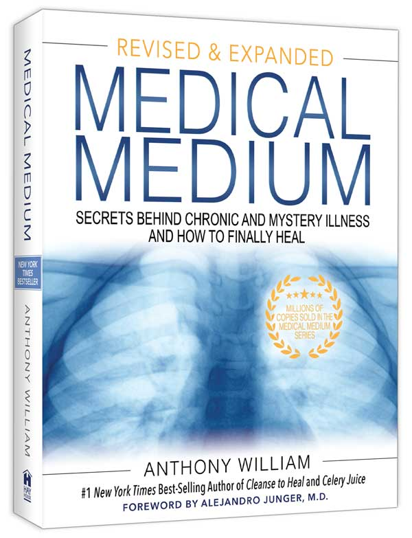 Medical Medium (Book) Revised and Expanded by Anthony William, Medical Medium