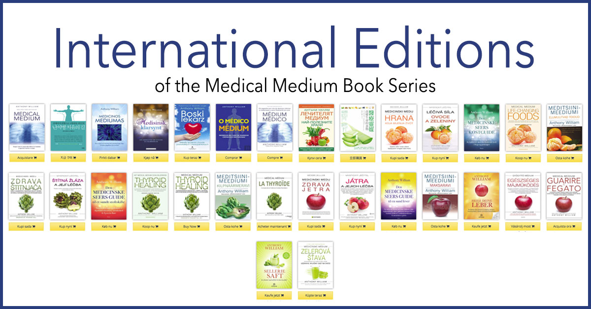 International Versions of the Medical Medium Books