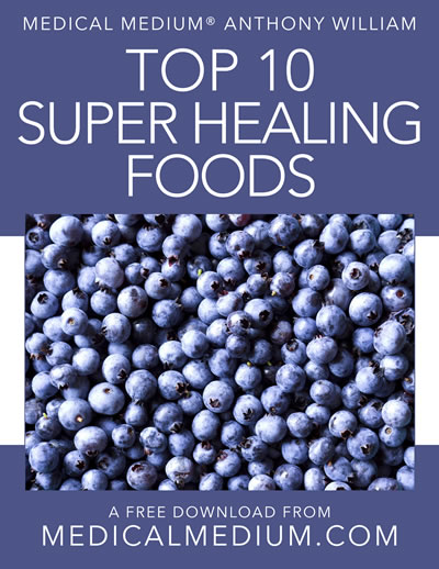 Top 10 Super Healing Foods
