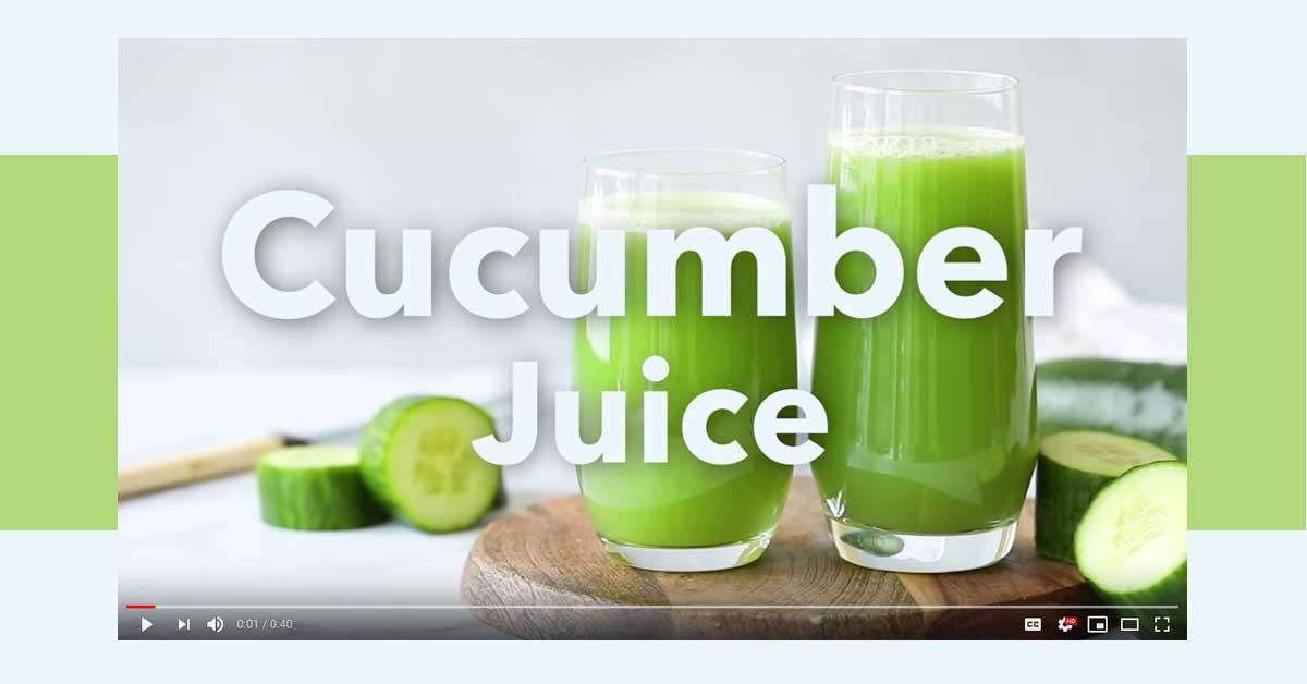 Cucumber Juice 101 | Medical Medium 101