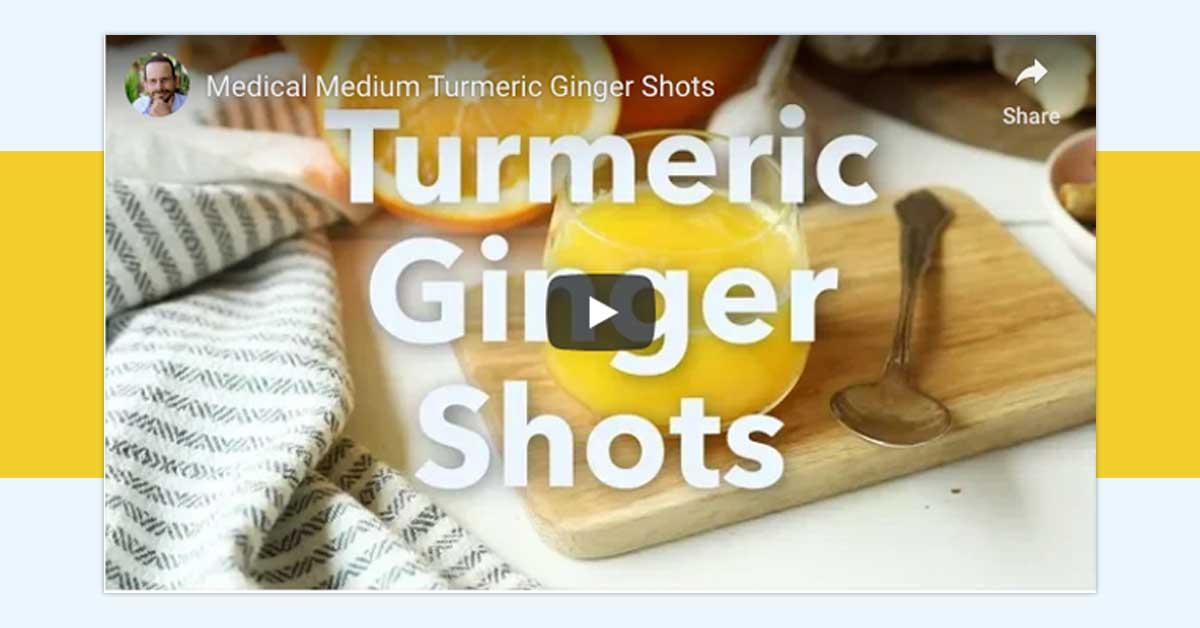 Turmeric-Ginger Shots 101 | Medical Medium 101